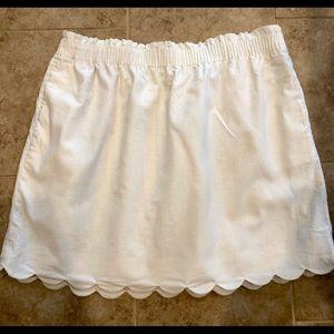 J. Crew scalloped sidewalk skirt, sz 20